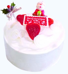 クリスマスケーキ白